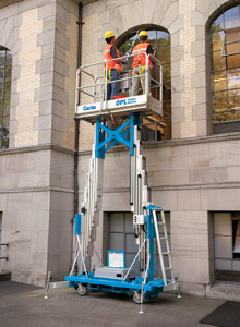 Rent a Genie DPL-30 Dual Personnel Lift from Fagan High Reach