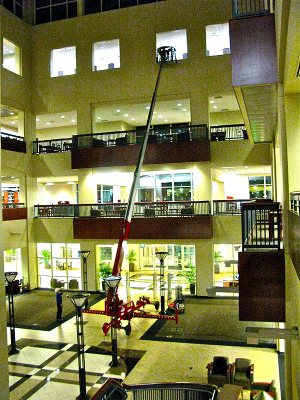 Rent a Denka Atrium Lift from Fagan High Reach
