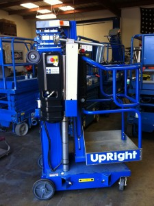 Rent an Upright UL-24 AWP Ariel Work Platform from Fagan High Reach