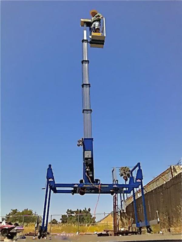 Bay Area Spider Lift, Compact Crawler, Atrium Lift Rental   Fagan