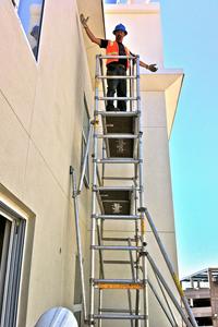 scaffolding thumb