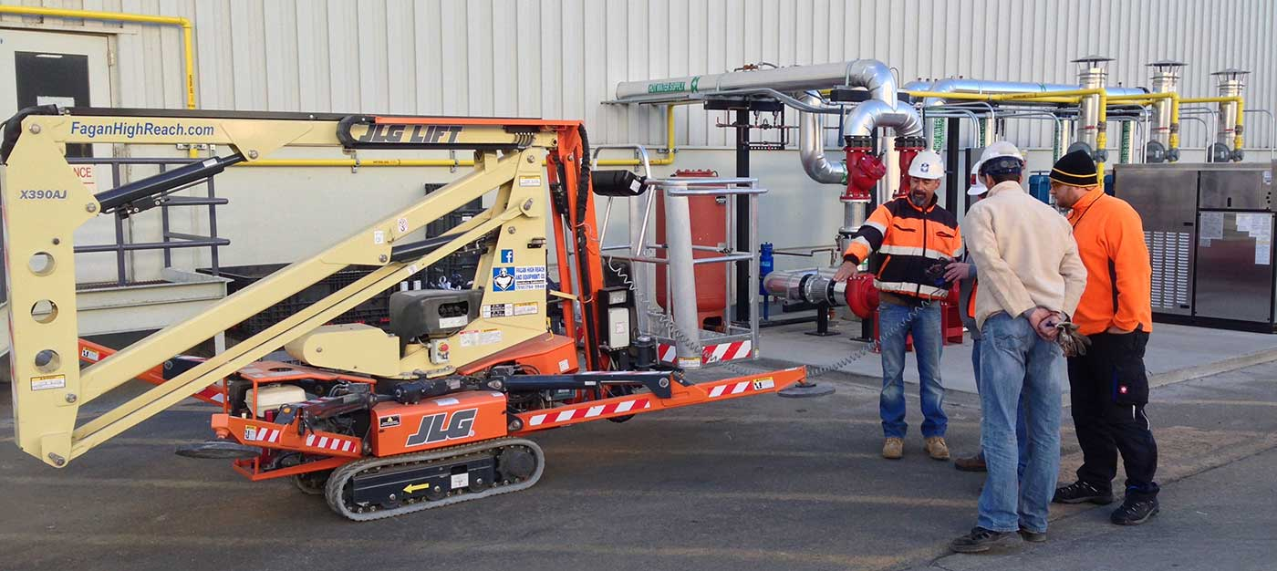 Boom lift training, boom lift certification, JLG X390AJ MEWP TYPE 1 GROUP B, ANSI 92.22 & 92.24, MEWP Training